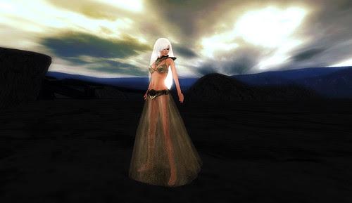 Dragonscale dress I