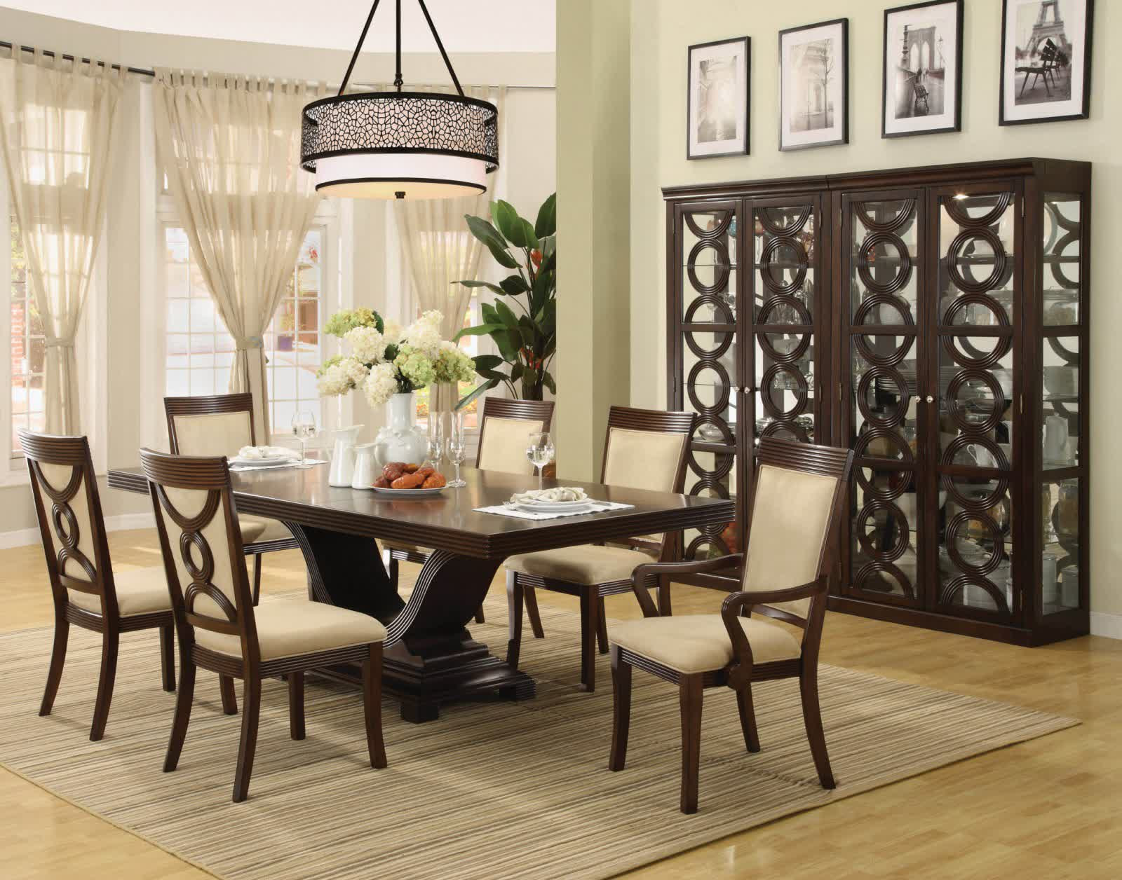 Home Design Architecture Dining Room Table Centerpieces