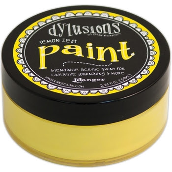 Ranger Dylusions Paint LEMON ZEST DYP45991
