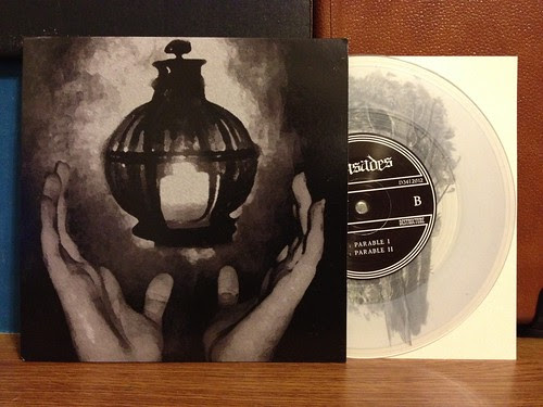 "Crusades - Parables 7"" - Clear Vinyl (/100) by Tim PopKid"