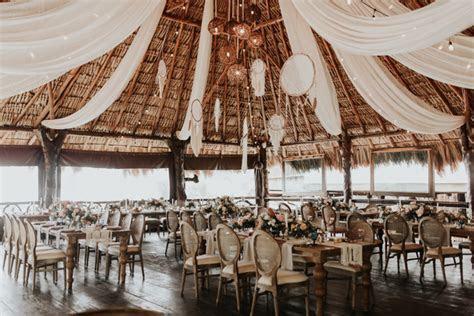 Boho Tulum Destination Wedding at Ak'iin Beach Club