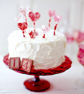 Heart Caake Toppers