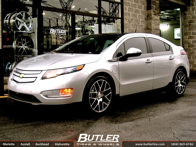 Chevrolet Volt With 19in Tsw Nurburgring Wheels Exclusively From Butler Tires And Wheels In