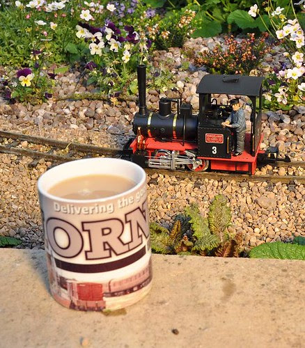 Tea and train