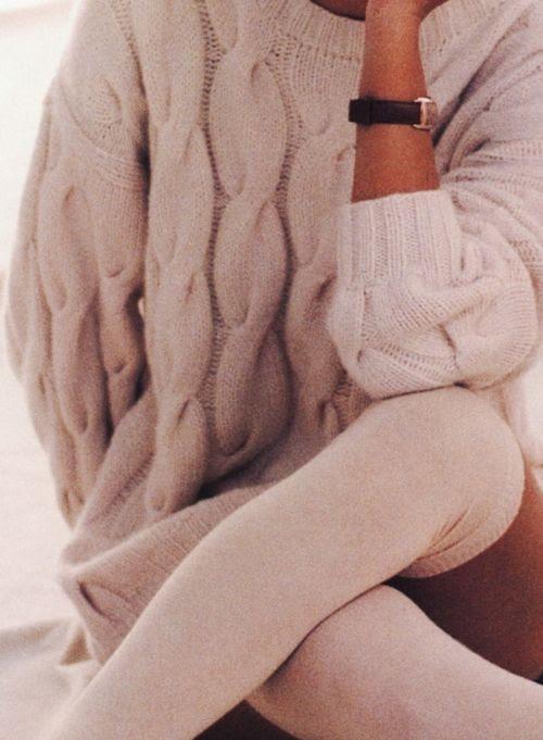 oversized sweater..