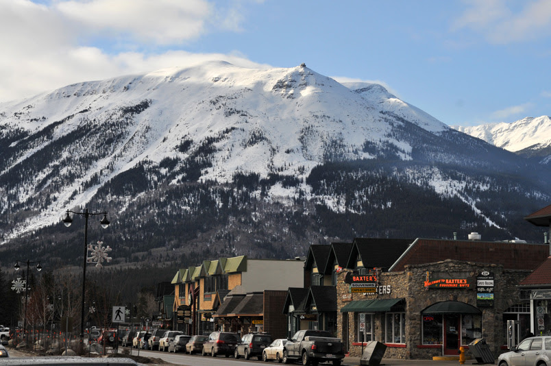 Bergort Jasper in Alberta