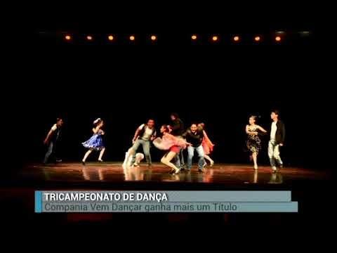 Tricampeonato da Companhia marajoara Vem Dança no concurso Dança Pará