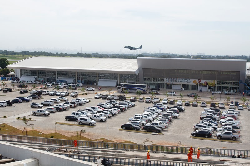 Movimento nos aeroportos do interior despenca