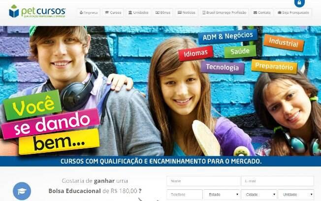 A PetCursos é uma franquia que oferece cursos profissionalizantes - Valor de investimento: R$ 27,5 mil. Foto: Divulgação