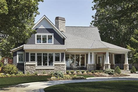 craftsman style house invites outdoor living house