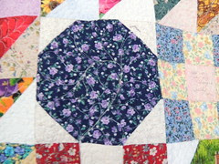 Quilting Detail - Snowball