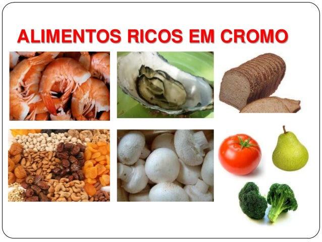 Resultado de imagem para alimentos cromo