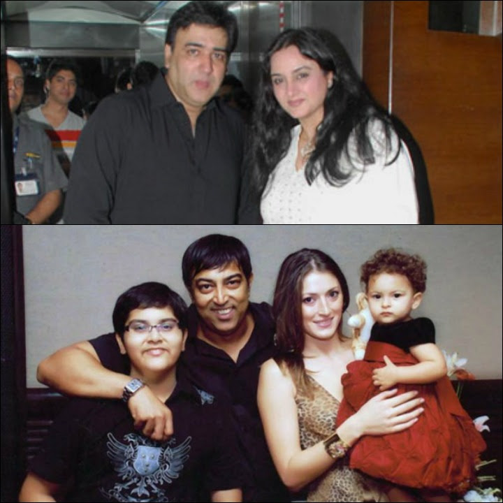 Farah Naaz Marriage - Farah Naaz With Sumeet Saiga And Vindu Dara Singh With Dina Umarova And Their KIds Fateh And Amelia