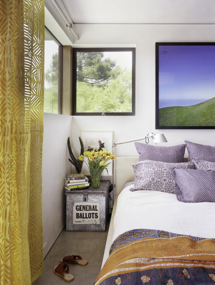 modern bedroom by WA design