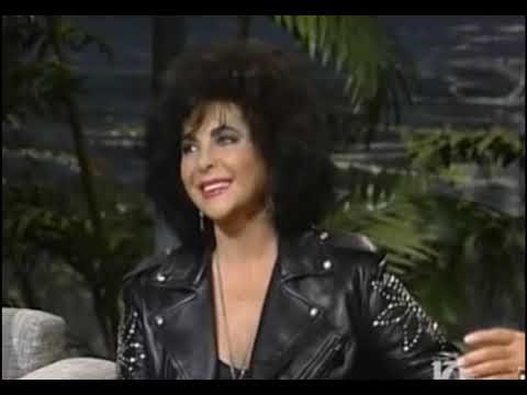 Elizabeth Taylor interview on Johnny Carson in 1992.