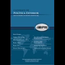 Cadernos de Política Exterior - Ano 1 - Número 2 - Segundo Semestre 2015