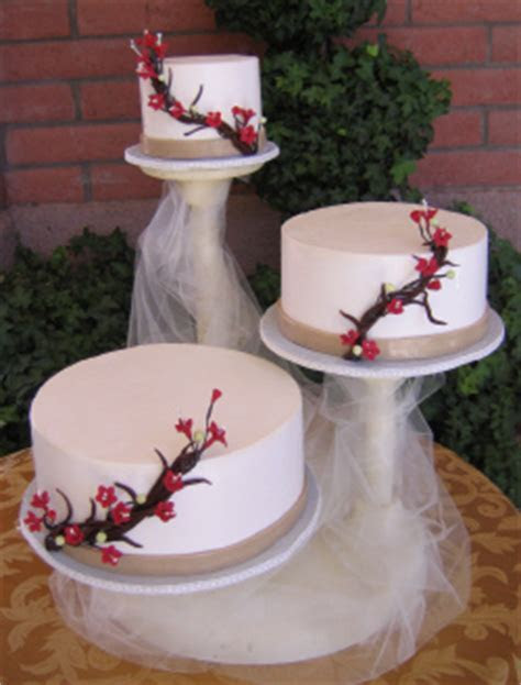 11 Floating Cake Stand Wedding Cakes Photo   2 Tier