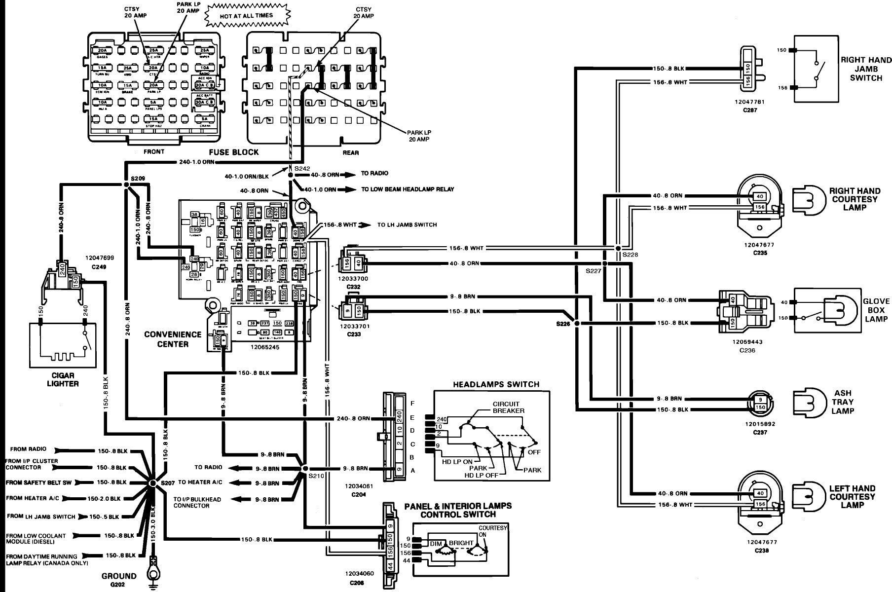 1990 Chevy Van Alternator Wiring Diagram