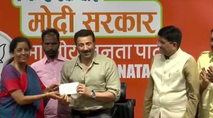 SUNNY DEOL AND OTHER FILM STARS WHO JOINED POLITICAL PARTIES THIS YEAR