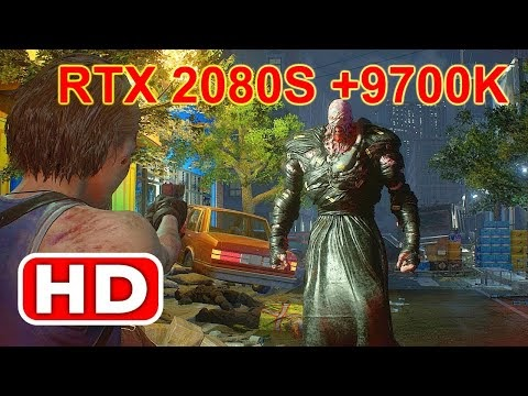 Resident Evil 3 Remake Demo Play at 4K RTX 2080 Super + i& 9700K