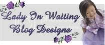 Lady In Waiting Blog Design