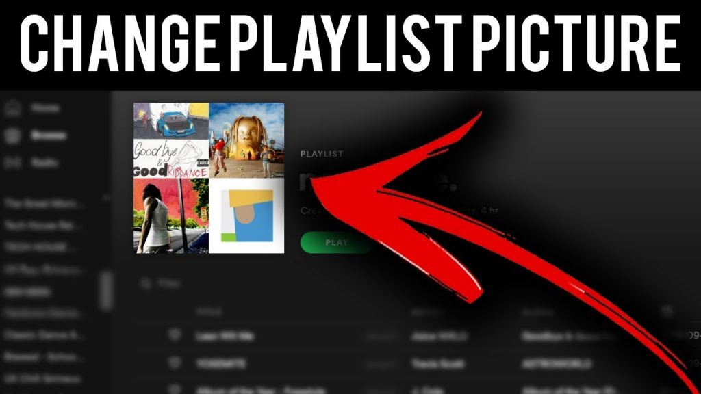 How To Change Image On Spotify Playlists | Disappointment ...