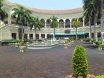 The Walking ring at GulfstreamPark