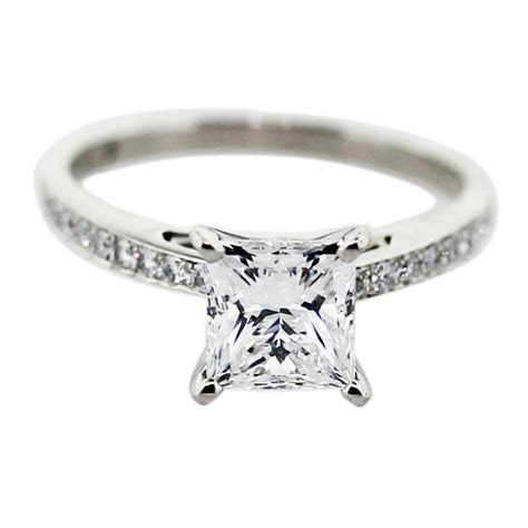 Engagement Ring Eye Candy: Square Engagement Rings   Paperblog