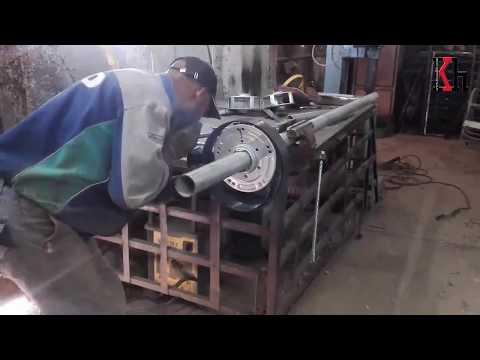 دورة صنع ابواب الريدو-السحاب- الرول بتفصيل طريقة تركيب الرصور داخل الطومبور الجزء الاول