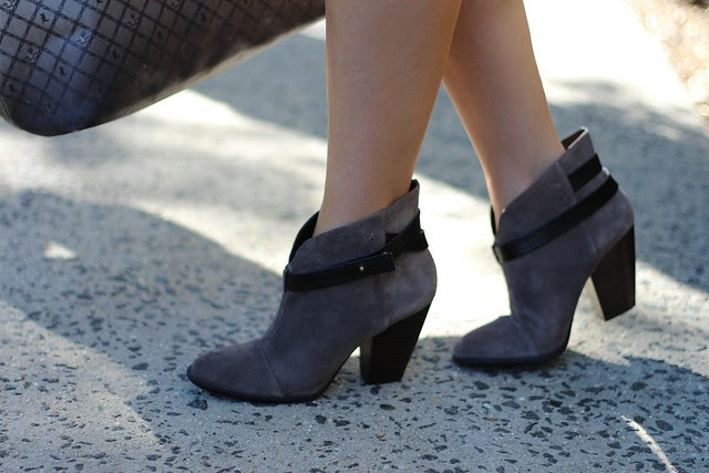 East vs. West: Sole Society Booties