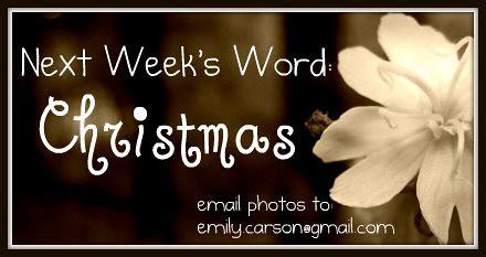 Next week, Christmas