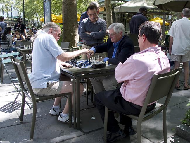 Speed Chess, Bryant Park