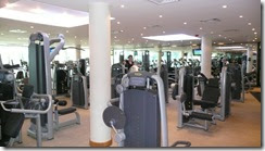 The Gym nest to the Hotel in Dubai