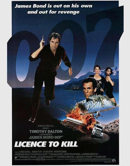 James Bond 007 Licence To Kill Poster