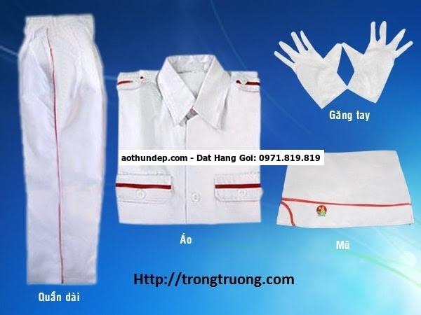đồng phục nghi lễ đội