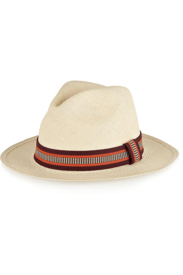 Shop The Vacation Issue of THE EDIT magazine. Sensi Studio|Toquilla straw Panama hat.