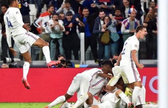 [Goals Highlight] Belgium 2 – 3 France (Watch Here)