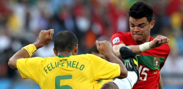 Brasil e Portugal voltarão a se encontrar depois do violento 0 a 0 na Copa do Mundo de 2010