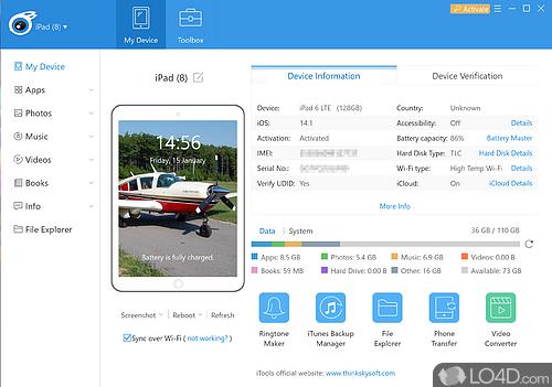 iTools - Screenshot 1