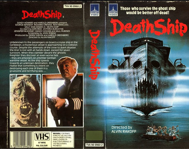 DeathShip (VHS Box Art)