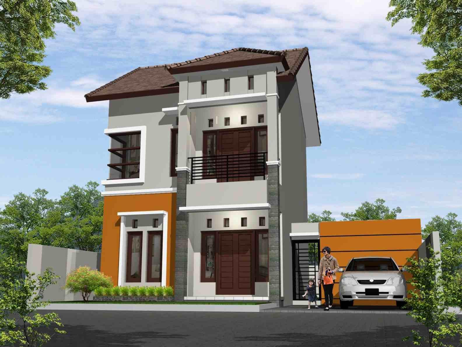 Desain Rumah Type 45 Minimalis 1 Lantai Dan 2 Lantai