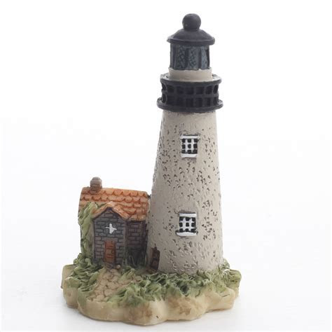 Miniature Lighthouse   Fairy Garden Supplies   Dollhouse