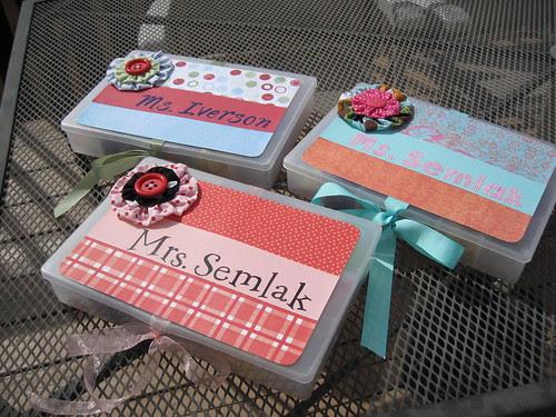 Teacher Supply Boxes