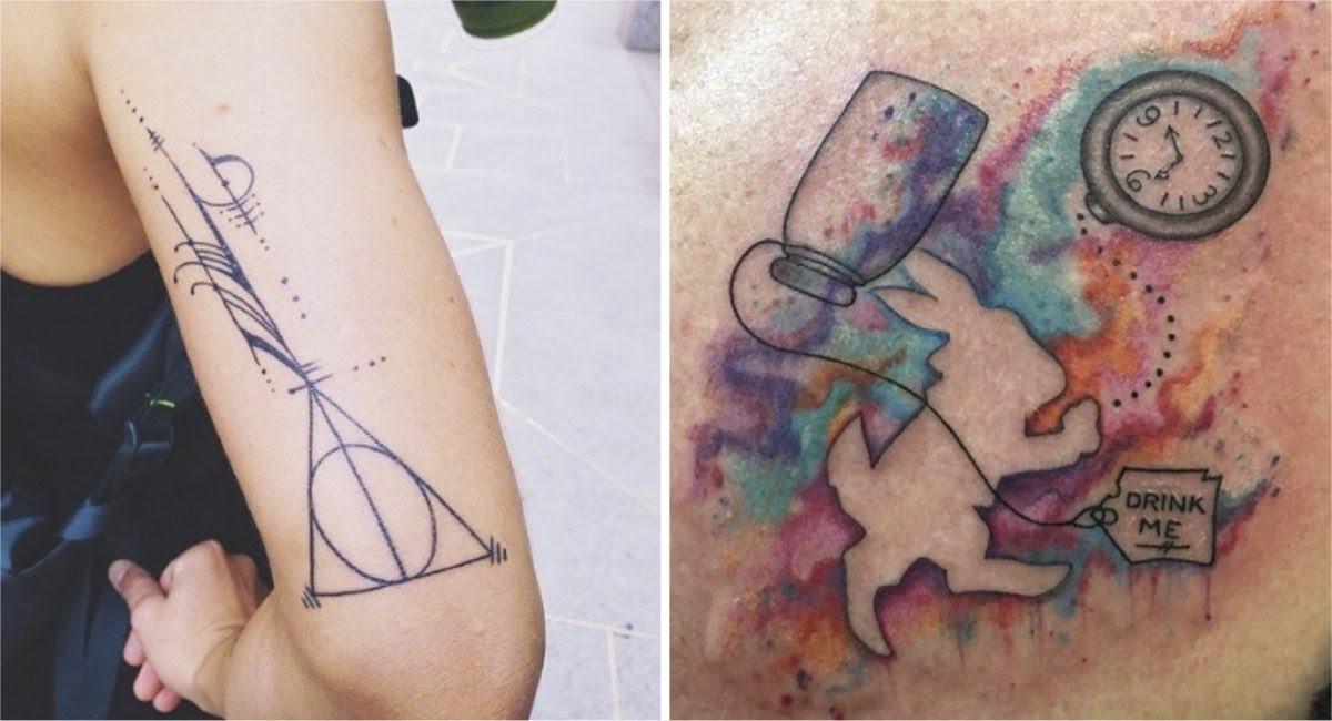 15 Increíbles Y Bellos Tatuajes Inspirados En Libros Que Te Harán