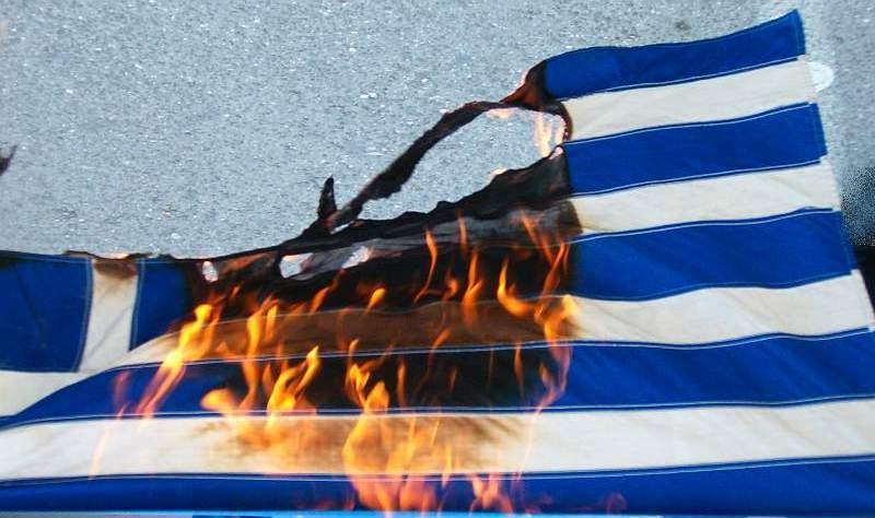 Αποτέλεσμα εικόνας για καψιμο σημαιας