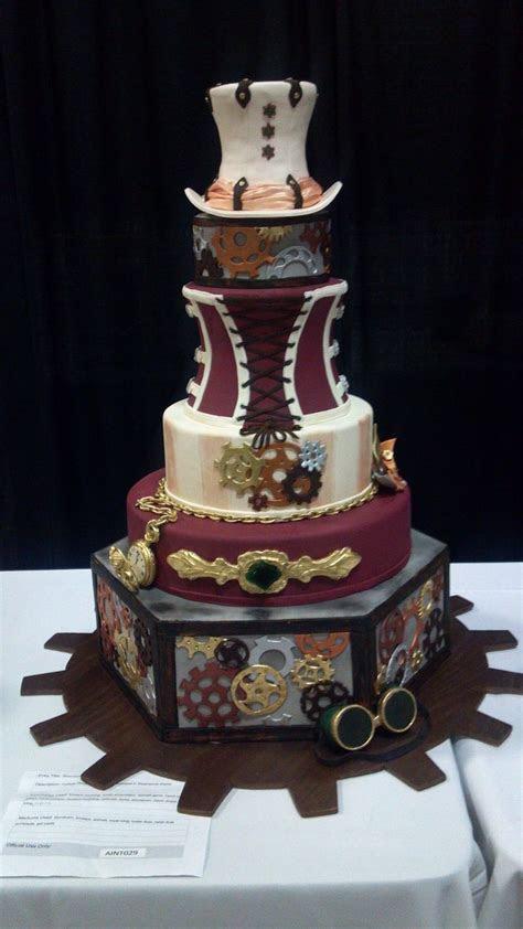 Steampunk Wedding Cake (Austin, TX)   Steampunk Wedding