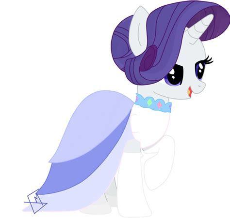 My Little Pony Rarity Wedding Dress