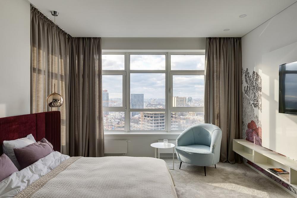 phòng ngủ trong căn hộ
