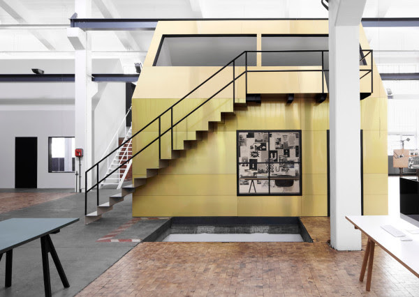 An Old Metal Workshop Becomes A New Studio in interior design  Category