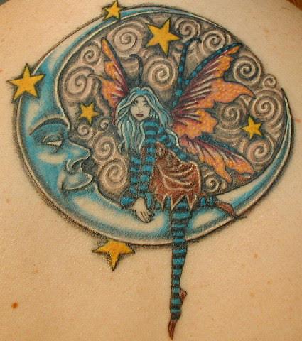 My upper back tattoo